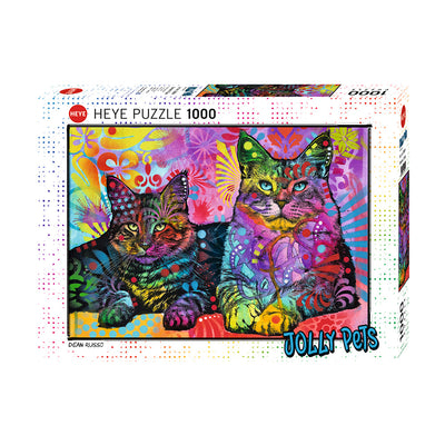 Puzzle 1000 piezas Jolly Pets Devoted 2 Cats
