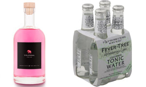 Bohemian Spirits Colossal Pink Gin Fever Tree Cucumber Tonic Water