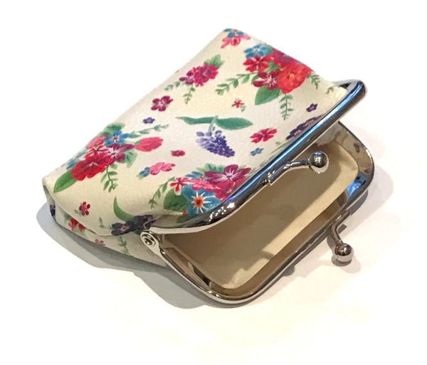 Ditsy Floral Print Coin Purse