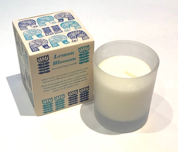 Lemon Blossom Scented Candle