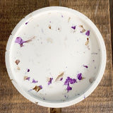 Set Of Two Dried Flower Confetti Dishes