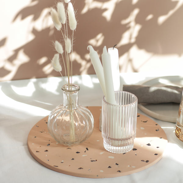 Terracotta & Shell Centrepiece Tray
