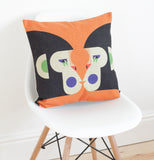 Geometric Monkeys Cushion Cover - Quirky Bee - 2