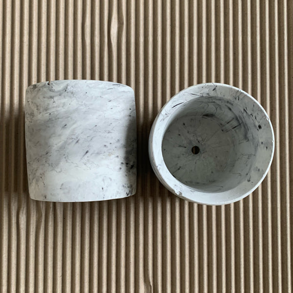 Concrete Marbled Planter