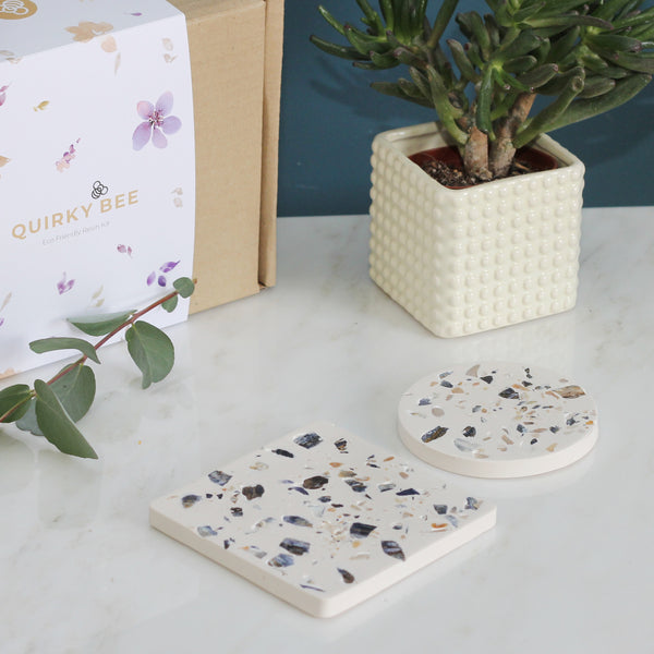 Terrazzo Coaster Making Craft Kit