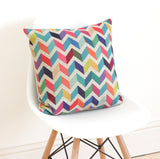 Chevron Linen Cushion Cover - Quirky Bee - 2