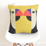 Geometric Parrots Cushion Cover - Quirky Bee - 1