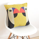 Geometric Parrots Cushion Cover - Quirky Bee - 2