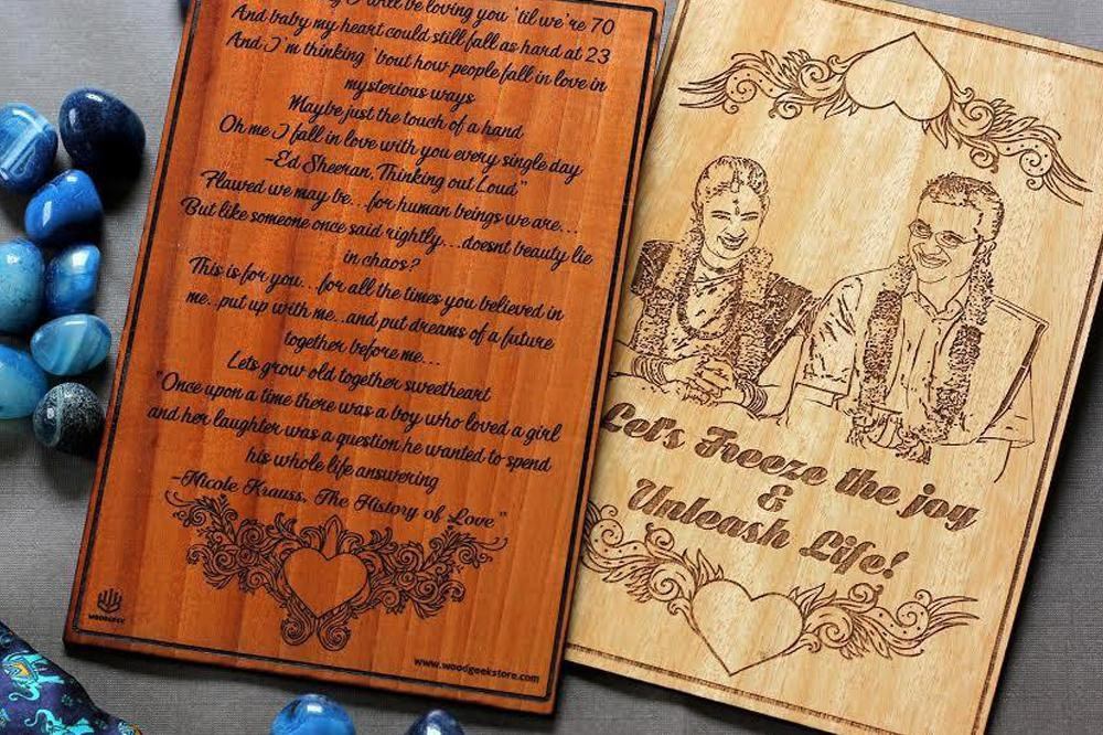 Valentine Contest: Personalized Wooden Cards