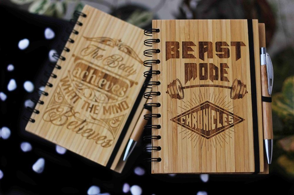 Bamboo Fitness Journals To Motivate You To Achieve Your Goals!