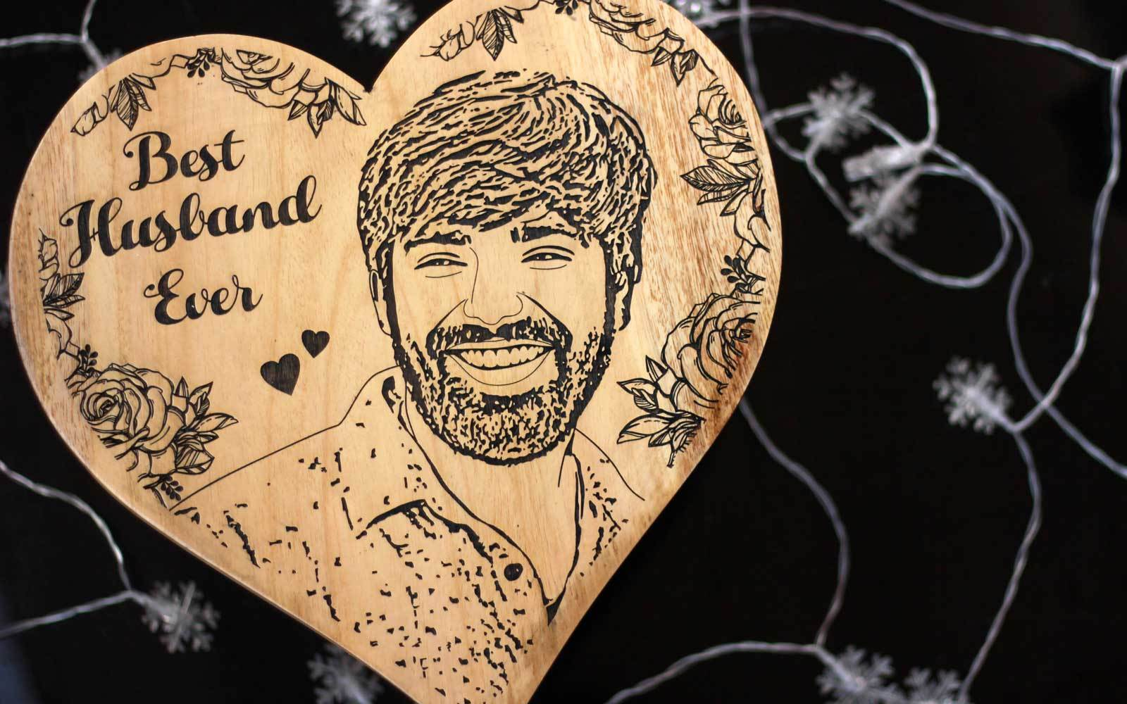 Carve Your Photo On Wood | Engraved pictures on wood
