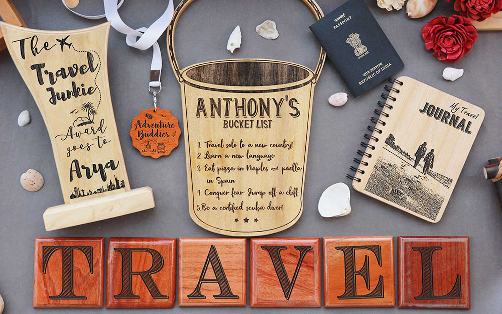 Gifts For Travel Lovers | Travel Gifts | Best Gifts For Travelers