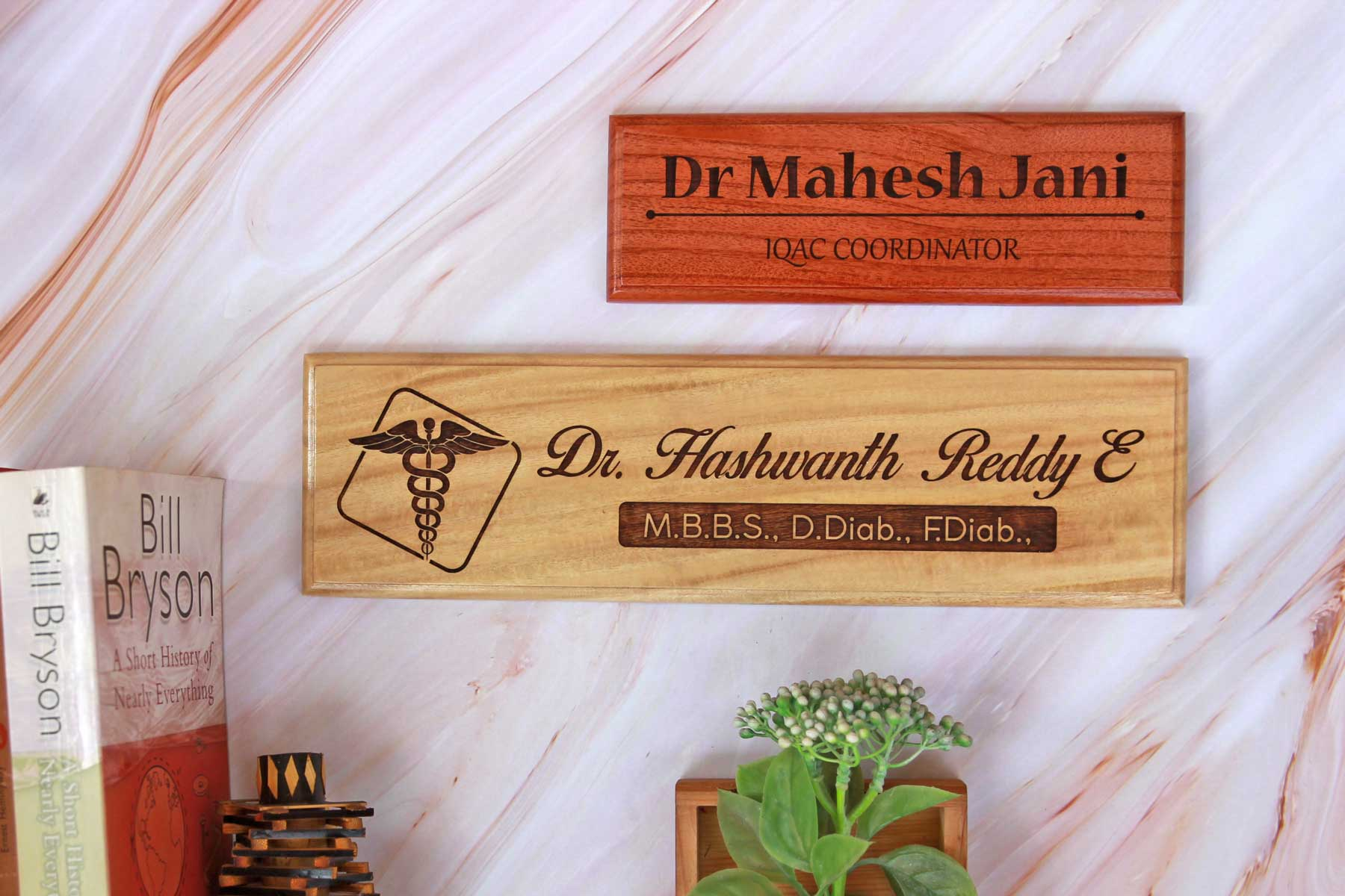 Wooden Nameplates