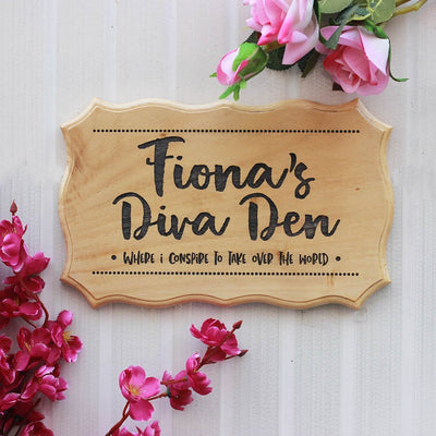 Personalized Bedroom Door Signs