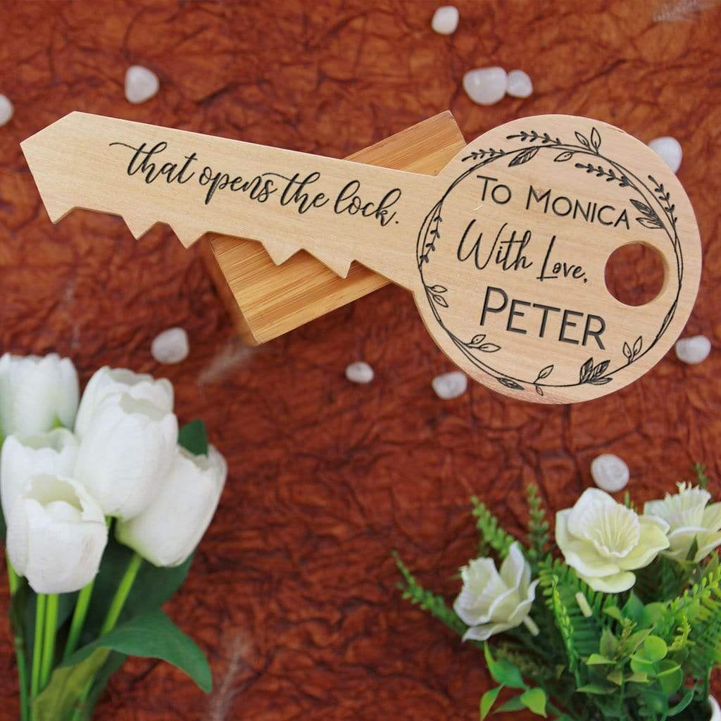 Don't lose hope. It is often the last key that opens the lock - Inspirational Wooden Signs. This Wooden Plaque is a great inspirational gift for friends, motivational gift for colleagues.