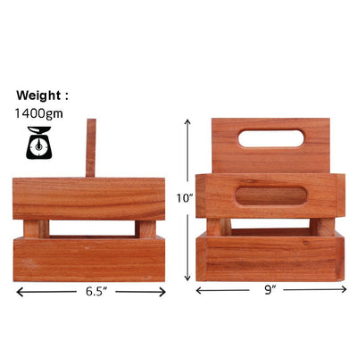 Specifications for Wooden 4 pack beer carrier - Woodgeek Store