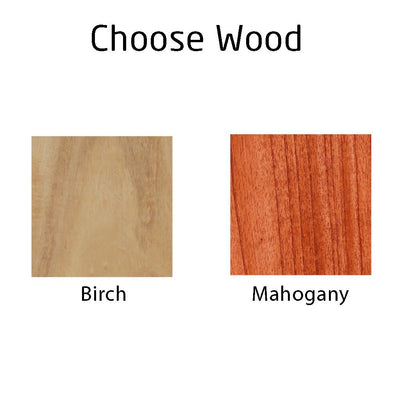 Wood Choices : Mahogany Wood and Birch Wood