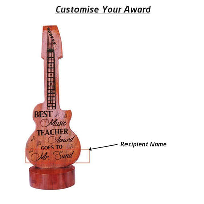 Best Music Teacher Award & Trophy. These Custom Trophies Make The Best Music Awards. This makes Unique Gifts For Musicians. This Custom Award Trophy Makes The Best Gift For Teachers.