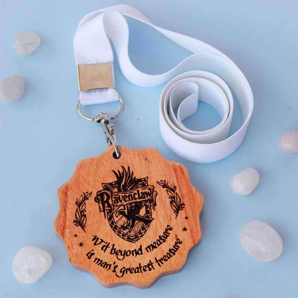 House Gryffindor Wooden Medal. This custom medal is the best gift for Harry Potter fans. Harry Potter Medals for Potterheads.