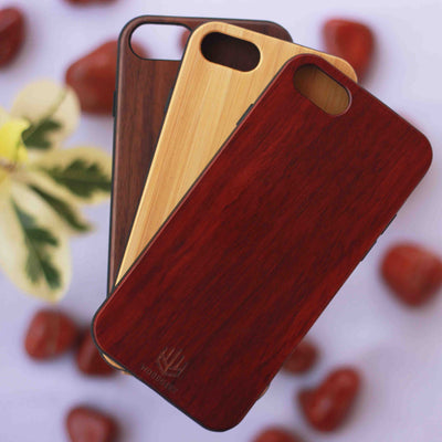 Real Wooden Phone Cases from Woodgeek Store | Engraved Phone Case | Plain Wood Case | iPhone Cases