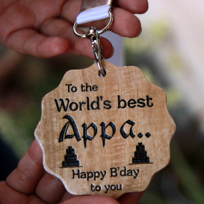 A Wooden Happy Birthday Medal Makes The Best Gifts For Dad. Looking for birthday gifts for dad? This Personalised Gift Is The Best Gift For Father