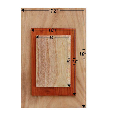 Wooden Poster Measurements by Woodgeek Store
