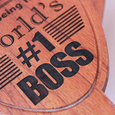 World's Best Boss Award Trophy. A custom best boss trophy makes a great thank you gift for boss. Best Boss Gifts Ever!