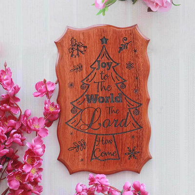 Joy To The World Wood Sign - Xmas Ideas - Best Christmas Gifts - Secret Santa Gifts - Wood Carved Signs - Wood Products By Woodgeekstore