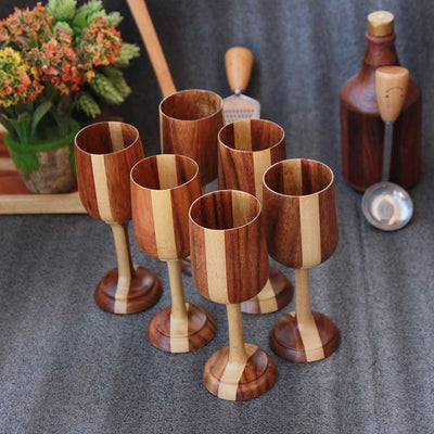 wooden-wine-glasses-patterned-plywood-set-of-6-woodgeekstore