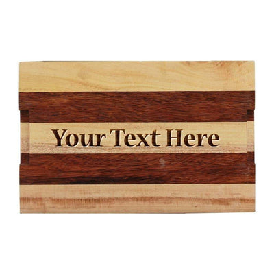 Personalized Serving Tray With Name. Wooden Tray Engraved With Name. Personalized Serving Tray For Wedding Gift, Anniversary Gift, Birthday Gift