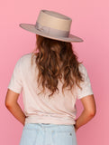 You Make Me Blush Stiff Brim Hat