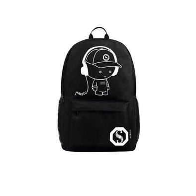 Creative Anime Luminous Backpack