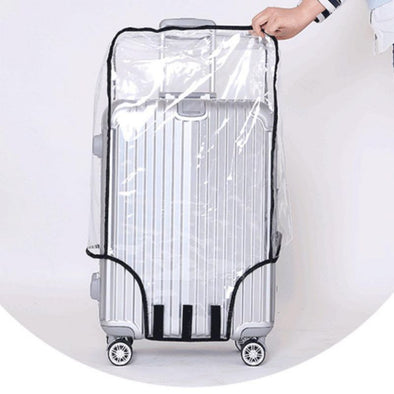 Rain Cover Clear Luggage