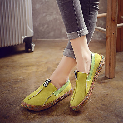 Ladies Peas Shoes