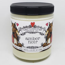 Load image into Gallery viewer, Amber Noir Valentine's Day candle