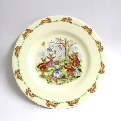 Vintage Beatrix Potter 'Bunnykin' Royal Dolton Plate