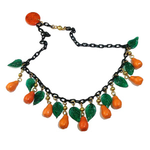 Bakelite Tutti Frutti Necklace