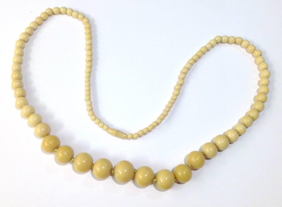 Antique Ivory Necklace