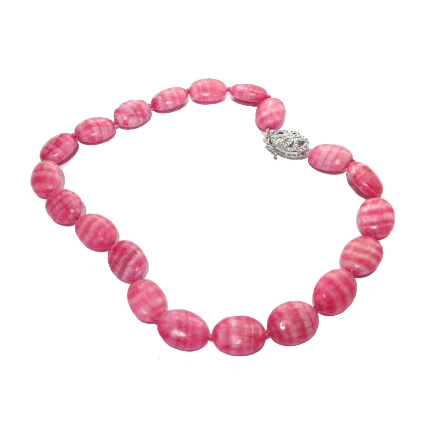 Beautiful Rhodochrosite Necklace