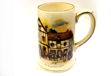 Sadler Carriage Scene Mug