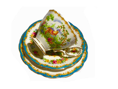 Royal Albert 'Chelsea Bird' Teacup set
