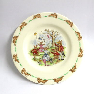 Bunnykins Plate by Royal Doulton