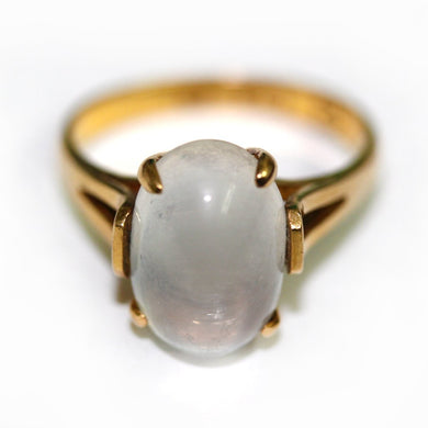 Moonstone 22ct Gold Ring