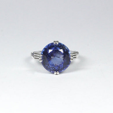 18ct White Gold 7.91ct Tanzanite Dress Ring