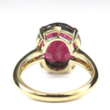 9ct Yellow Gold 6.55ct Tourmaline Ring