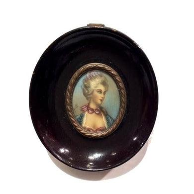 Original Victorian Miniature Framed Painting