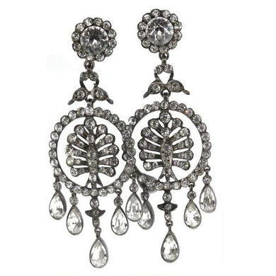Antique French Paste Earrings c.1890