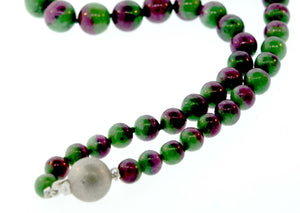 Natural Anyolite Necklace