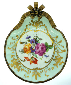 Decorative Limoges Plate Scallop Design