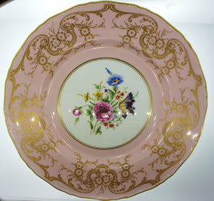 Royal Worcester England Decorative Wall Plate
